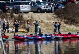 Kayak excursion at Pillar Point Harbor. Dawn Page / CoastsideSlacking