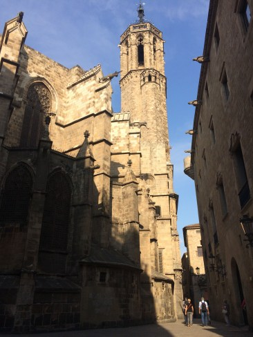 The gothic quarter in Barcelona. Dawn Page / CoastsideSlacking