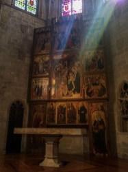 Chapel of Santa Àgata in Barcelona. Dawn Page / CoastsideSlacking