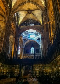 The choir in Barcelona Cathedral. Dawn Page / CoastsideSlacking