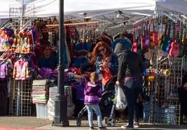 Arts and crafts booth at the 2017 Half Moon Bay Pumpkin Festival. Dawn Page / CoastsideSlacking