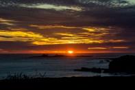 Sunset at Año Nuevo State Park in Pescadero, California. Dawn Page / CoastsideSlacking.