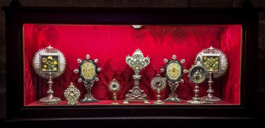 Monstrances in Seville Cathedral. Andalusia, Spain. Dawn Page / CoastsideSlacking
