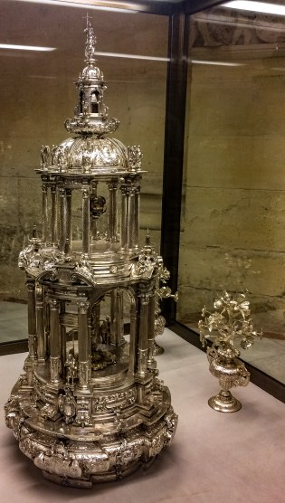 Monstrance in Seville Cathedral. Andalusia, Spain. Dawn Page / CoastsideSlacking