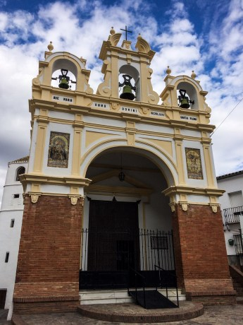 Village church in Zahara de la Sierra, Andalusia, Spain. Dawn Page / CoastsideSlacking