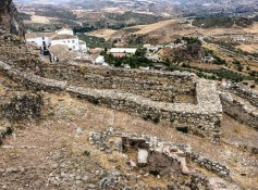 Ruins of the 15th century moorish castle in Zahara de la Sierra, Andalusia, Spain. Dawn Page / CoastsideSlacking