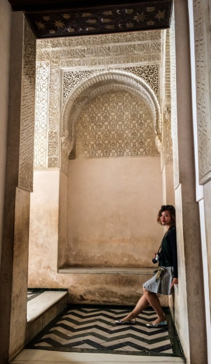 Stunning carvings and plaster work in the Alhambra palace in Granada, Spain. Dawn Page / CoastsideSlacking