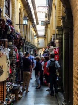 Bazaar in Granada, Spain. Dawn Page / CoastsideSlacking