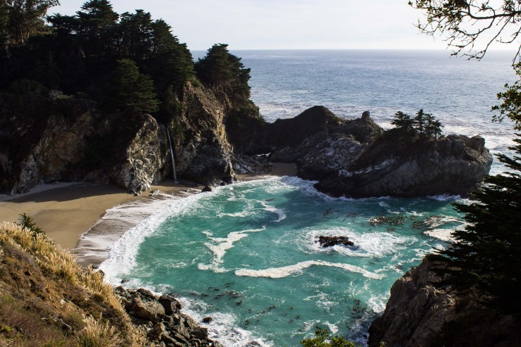McWay Falls at Julia Pfeiffer Burns State Park. Dawn Page / CoastsideSlacking