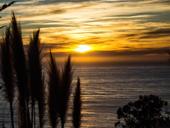 Sunset in Big Sur, California. Dawn Page / CoastsideSlacking