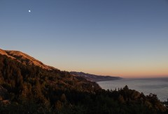 Sunset on the deck at Nepenthe, Big Sur, California. Dawn Page / CoastsideSlacking