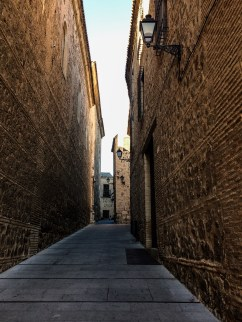 Old town streets in Toledo, Spain. Dawn Page / CoastsideSlacking