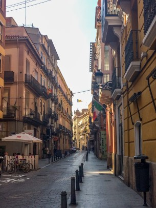 Old Town Valencia, Spain. Dawn Page / CoastsideSlacking