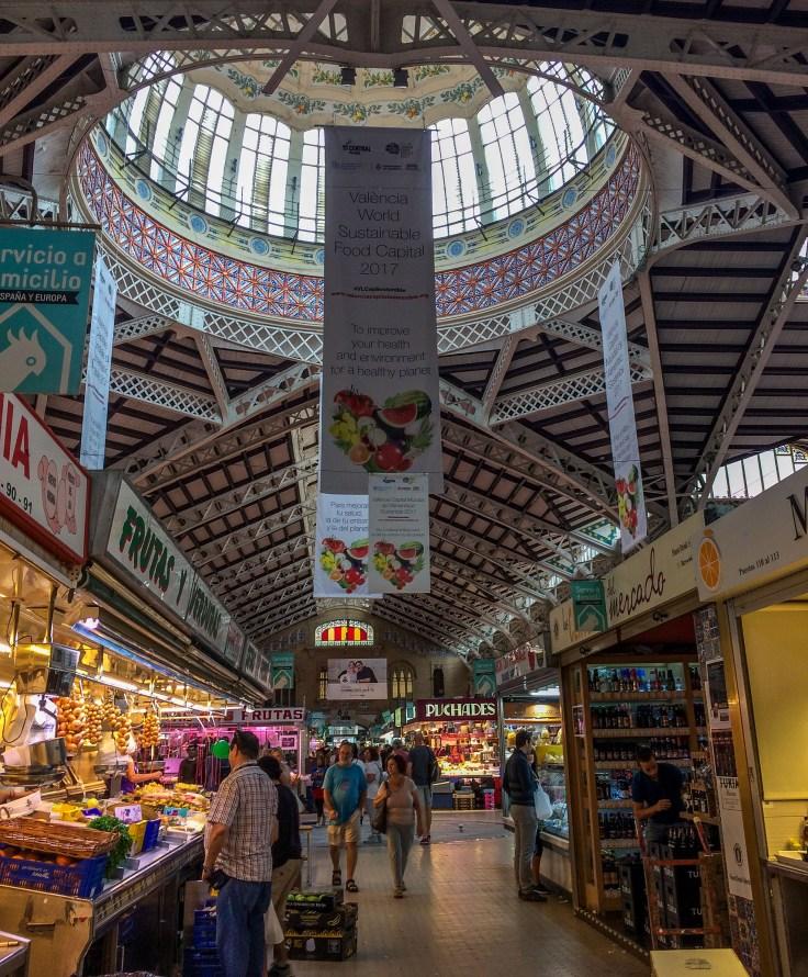 Mercat Central in Valencia, Spain. Dawn Page / CoastsideSlacking
