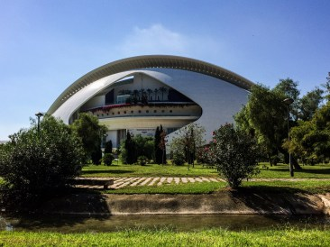 City of the Arts and Sciences in Valencia, Spain. Dawn Page / CoastsideSlacking