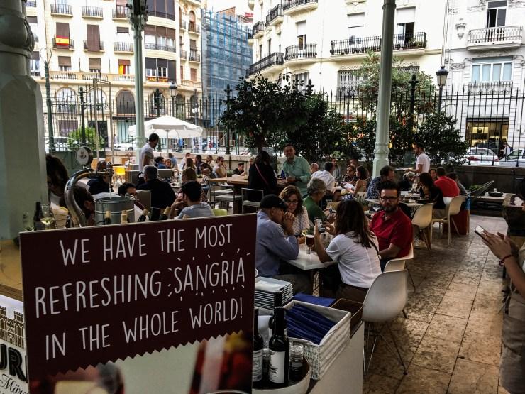 Mercado de Colon in Valencia, Spain. Dan Page / CoastsideSlacking