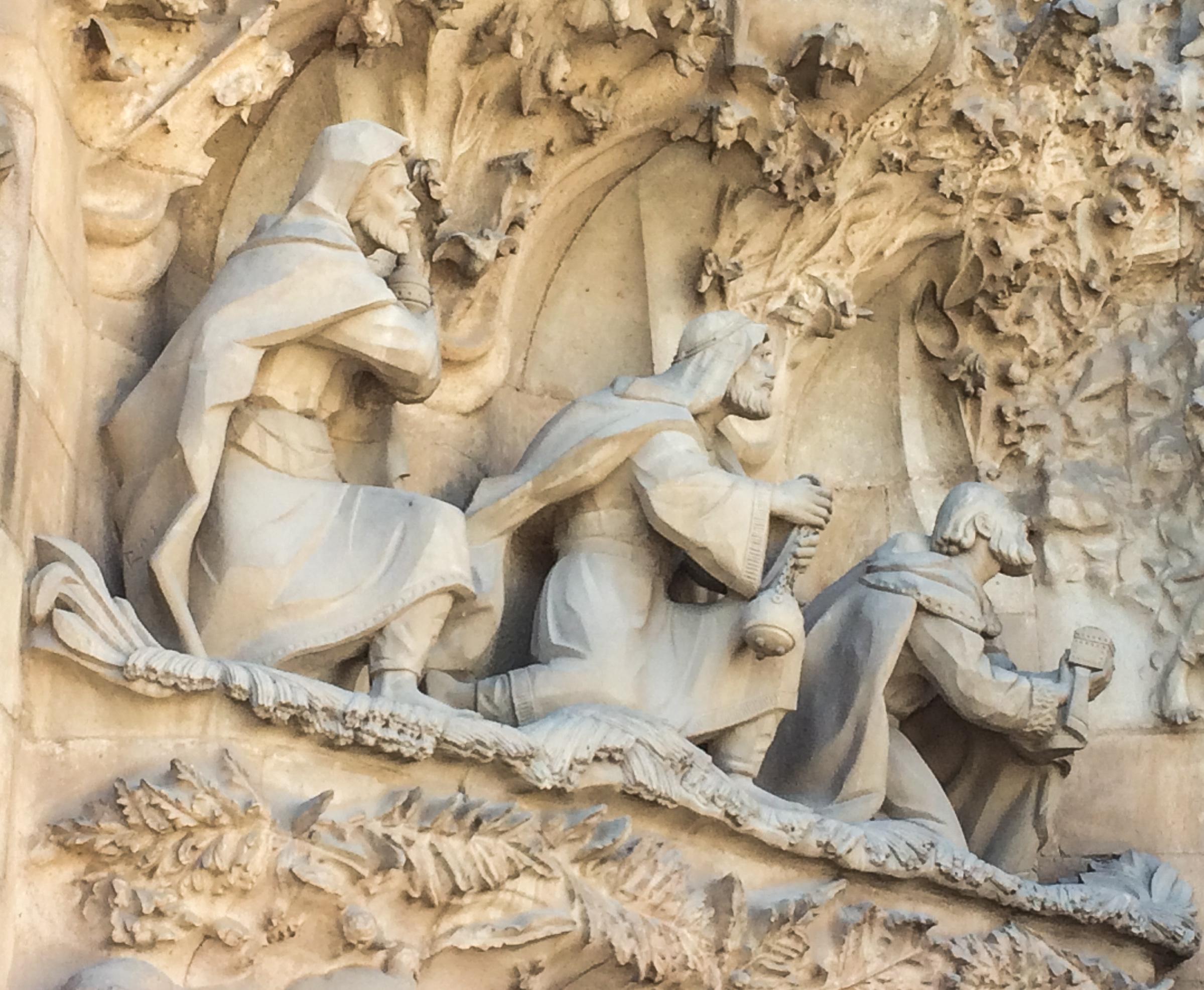 Sagrada Familia, Barcelona. Dawn Page/Coastside Slacking
