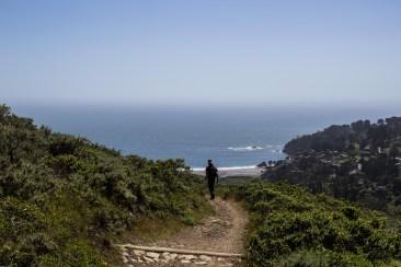 MontaraManDan on Dias Ridge Trail. Dawn Page/CoastsideSlacking