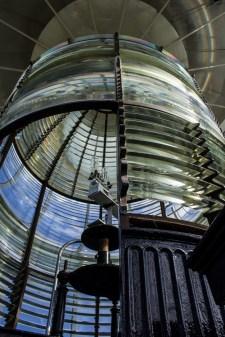Fresnel lens, Bodie Island Lighthouse. Dawn Page/CoastsideSlacking
