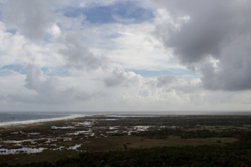 Cape Hatteras, from the Cape Hatteras Lighthouse. Dawn Page/CoastsideSlacking