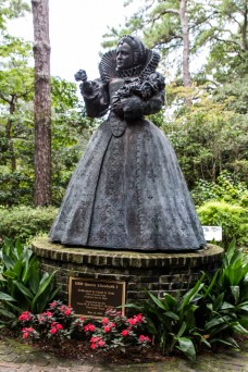 Elizabethan Gardens, Roanoke Island. Dawn Page/CoastsideSlacking