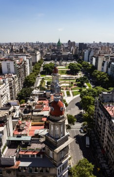 Capital Federal, Buenos Aries. Dawn Page/Coastside Slacking