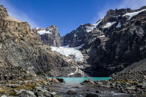 Laguna Azul at Los Glaciares National Park, Argentina. Dawn Page/CoastsideSlacking