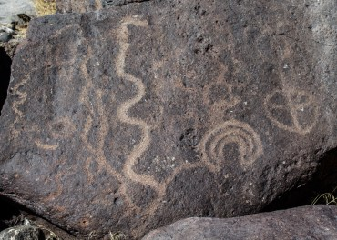 Petroglyphs at Grimes Point Archaeological Area, Fallon, NV. Dawn Page/CoastsideSlacking