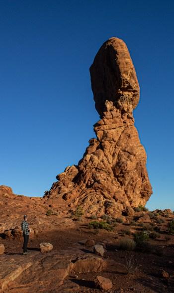 Balanced Rock, Arches National Park. Dawn Page/CoastsideSlacking