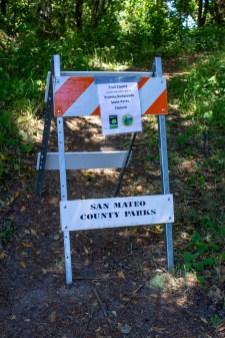 Pescadero Creek Park, San Mateo County, CA. Dawn Page /CoastsideSlacking