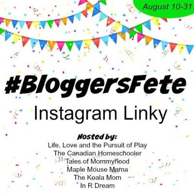 #BloggersFete Instagram Linky