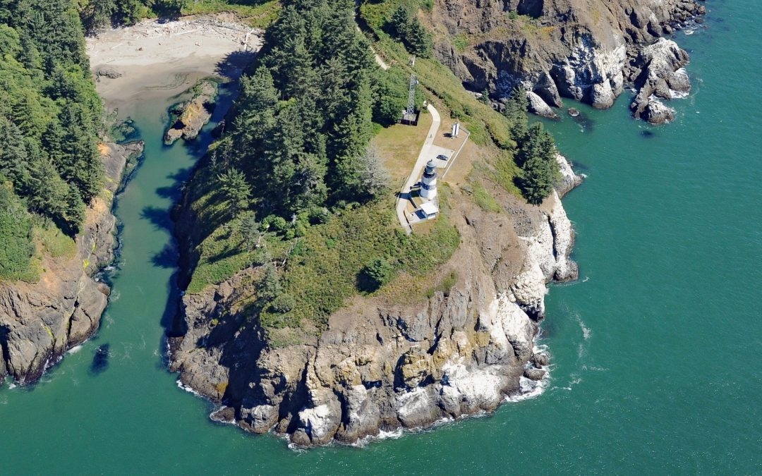 Cape Disappointment Light, Columbia River