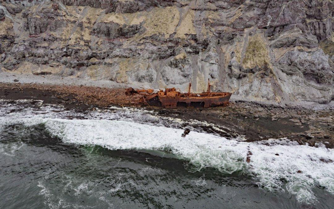 SS Oduna, Cape Pankof
