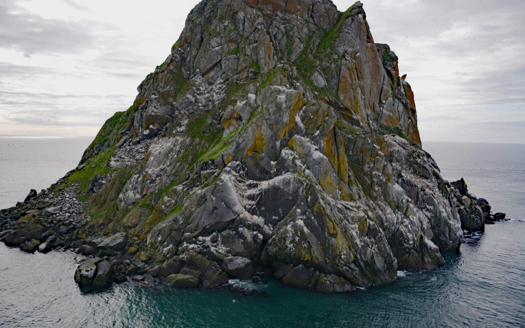 Fairway Rock, Bering Strait