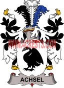 achsel coat of arms family crest