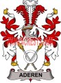 aderen coat of arms family crest