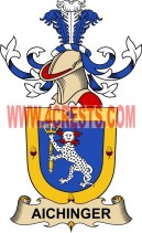 aichinger coat of arms family crest