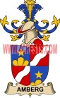 amberg coat of arms family crest
