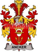 ancker coat of arms family crest