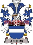 anders coat of arms family crest