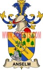 anselm coat of arms family crest