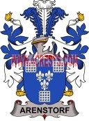 arenstorf coat of arms family crest