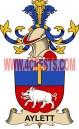 aylett coat of arms family crest