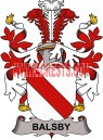 balsby coat of arms family crest