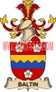 baltin coat of arms family crest