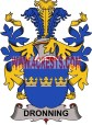 dronning-family-crest