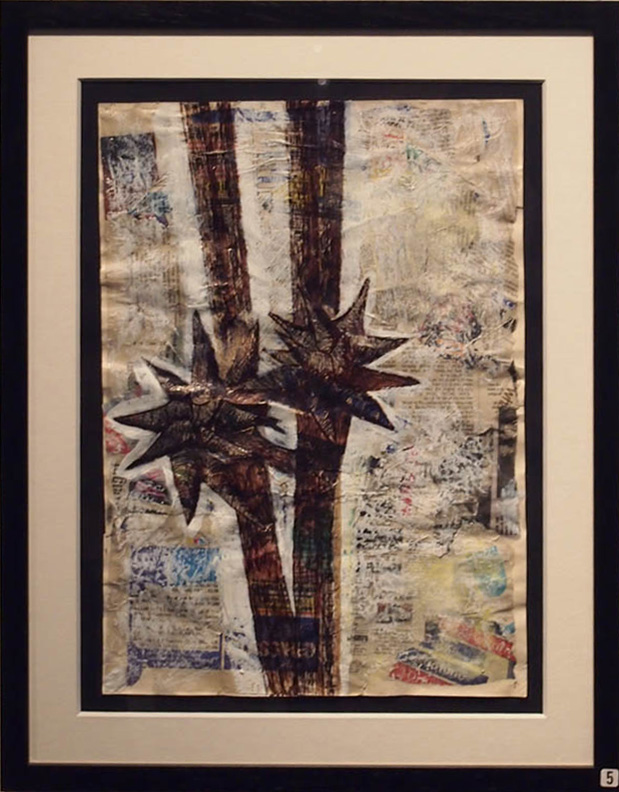 Joe Kenyon KAYAC under 16s 55x43cm; Mixed media