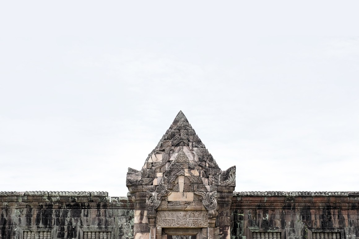 Wat Put Ruins near champasak