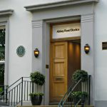 Front door of Abbey Road Studios where the Beatles recorded