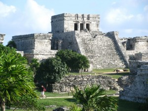 The Castillo at Tulum, Mexico. A great area for golf and travel